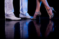 Dancing feet. Stock Photography