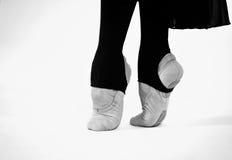 Dancing feet classical ballet royalty free stock photos