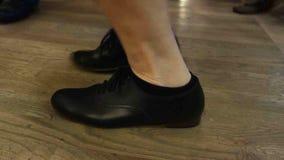 Dancing feet at floyd's friday night jamboree stock video
