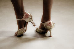 Dancing feet Royalty Free Stock Image