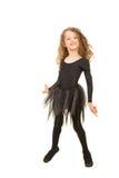 Dancing felice della ragazza Fotografia Stock Libera da Diritti
