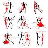 Dancing figures. Stock Images