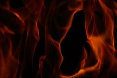 Dancing fire Stock Photo