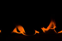 Dancing Fire 3 Royalty Free Stock Photo