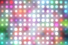 Dancing floor lights Stock Photography
