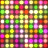 Dancing floor lights (Seamless Texture) Stock Photos