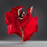 Dancing flower stock photography