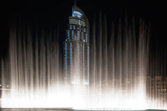 Dancing fountain Royalty Free Stock Photo