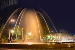 Dancing Fountains in Batumi Royalty Free Stock Images