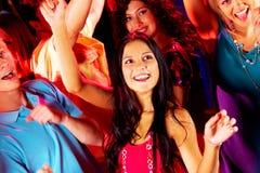 Dancing friends Stock Image