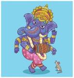 Dancing Ganesha Fotografie Stock Libere da Diritti