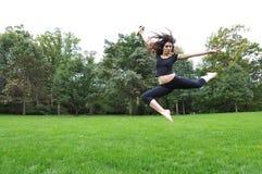 Dancing in the garden Stock Images