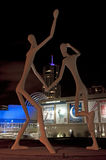 Dancing Giants, Denver royalty free stock photography