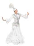 Dancing girl Stock Images