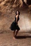 The dancing girl royalty free stock photos
