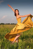 Dancing girl Royalty Free Stock Images