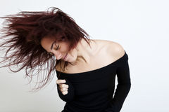 dancing girl Στοκ φωτογραφίες με δικαίωμα ελεύθερης χρήσης