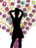Dancing girl Royalty Free Stock Photo