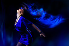 Dancing girl. Stock Photo