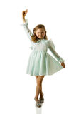 Dancing girl Stock Image