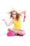 Dancing girl. Stock Photo