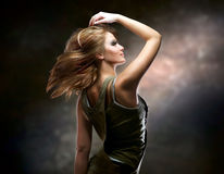 Dancing Girl Royalty Free Stock Photography