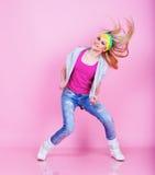 Dancing girl Royalty Free Stock Photo