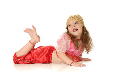 The dancing girl Royalty Free Stock Image