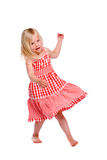 Dancing girl Stock Photography