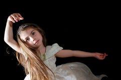 Dancing girl Stock Photo