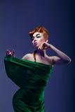 Dancing girl Royalty Free Stock Photography