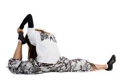 dancing girl joy Στοκ φωτογραφία με δικαίωμα ελεύθερης χρήσης