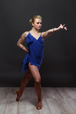 Dancing girl. Stock Images