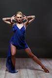 Dancing girl. Royalty Free Stock Photos