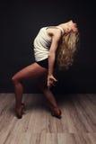 Dancing girl. Stock Image