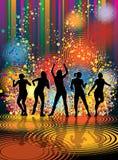 Dancing girls Royalty Free Stock Photos