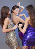 Dancing girls Stock Photo