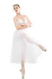 Dancing gracefully Royalty Free Stock Photo