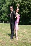 Dancing grazioso Fotografia Stock