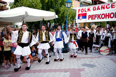 Dancing greco Fotografie Stock
