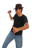 Dancing guy Stock Photography