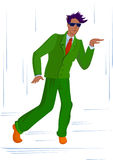 Dancing guy Royalty Free Stock Photography