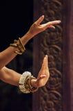 Dancing hands. A aspara dancer's dancing hands in cambodia siem reap Stock Image