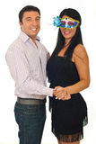 Dancing happy couple Royalty Free Stock Photo