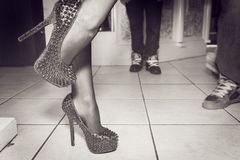 Dancing Heels Royalty Free Stock Image