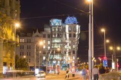 Dancing home, Prague Royalty Free Stock Photos