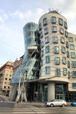 Dancing house Stock Photos