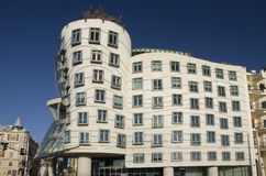 Dancing house stock photography