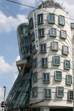 The Dancing House_III. The Dancing House (Czech: Tančící dům) or Fred and Ginger is the nickname given to the Nationale-Nederlanden building at Rasinovo Stock Image