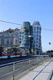 Dancing House (Ginger and Fred) in Prague Royalty Free Stock Photo